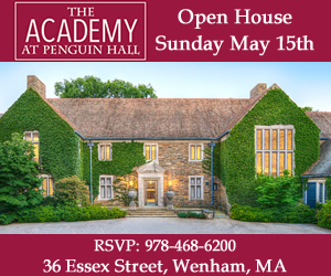 The Academy at Penguin Hall Open House. Independent High School for Girls in Wenham MA