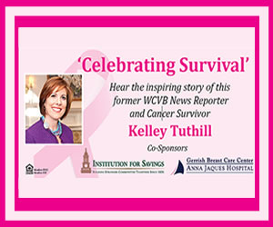 "Luncheon with Kelley Tuthill ""Celebrating Survival"""