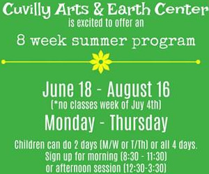 Cuvilly Arts and Earth Center Summer Program for Children