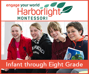 Harborlight Montessori School. Infant to grade 8 in Beverly MA