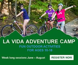 La Vida Adventure Summer Camp Program for kids 10-18 in Hamilton Massachusetts