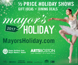 Discount Tickets in Boston Mayors Holiday 2017