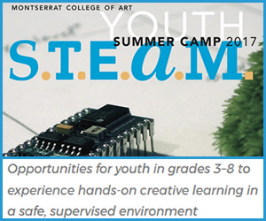 Summer Programs for kids grades 3-8 at Montserrat College of Art