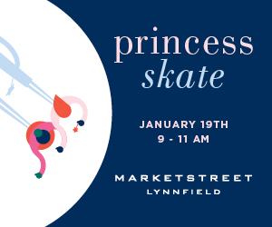 MarketStreet Lynnfield Outdoor Skating Rink Princess Party