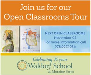 School Open House at Waldorf School at Moraine Farm in Beverly MA