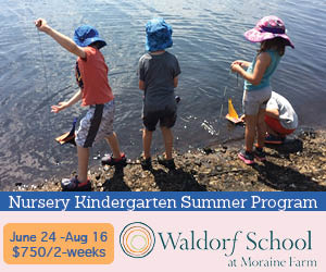 Nursery Kindergarten Summer Program at Moraine Farm in Beverly