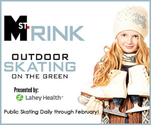 MarketStreet Lynnfield Ice Skating Rink, Shopping, Dining for north shore families