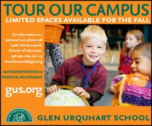 Glen Urquhart School Pre-K through 8th grade in Beverly MA