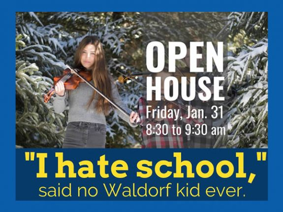 Waldorf School at Moraine Farm Grade 1-8 Open House