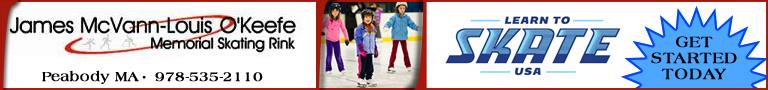 Peabody Ma Ice Skating Rink McVann-O'Keefe Memorial Skating Rink