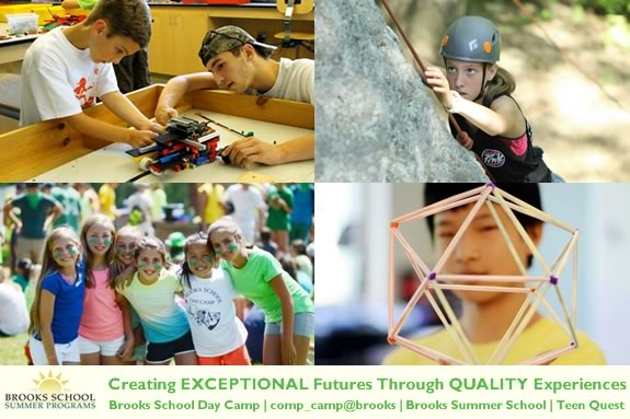 Brooks School's Summer Programs create EXCEPTIONAL futures through QUALITY experiences.
