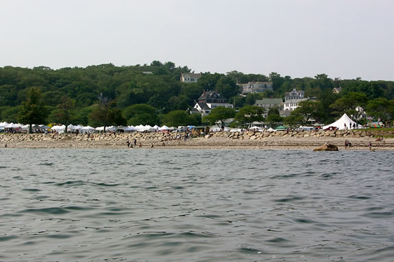 Cressy's Beach is the larger of two beaches located at Stage Fort Park in Glouce