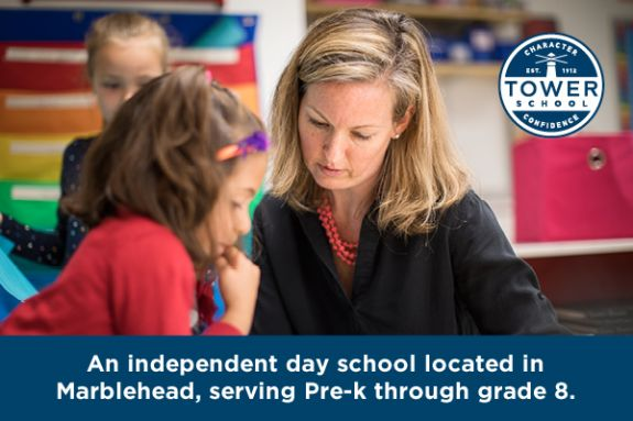 Tower School in Marblehead MA An independent day school located in  Marblehead, serving Pre-k through grade 8.
