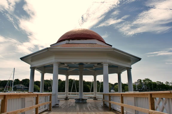 The Gazebo at Tuck's Point, Manchester, MA