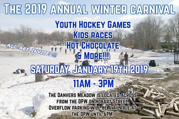 Come to the Danvers Meadows for some outdoor family fun on the ice!