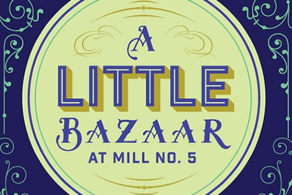 A Little Bazarr is a makers market in at Mill No. in Lowell Massachusetts