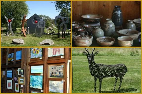 Art in the Barn is a fundraiser for the Essex Greenbelt Association Essex Mass