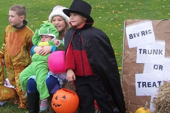 Trunk or Treat hosted by Beverly Recreation at Lynch Park!