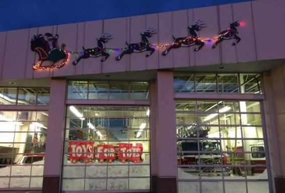 Take a photo with Santa at the Danvers Fire Department and help them with their toy drive!