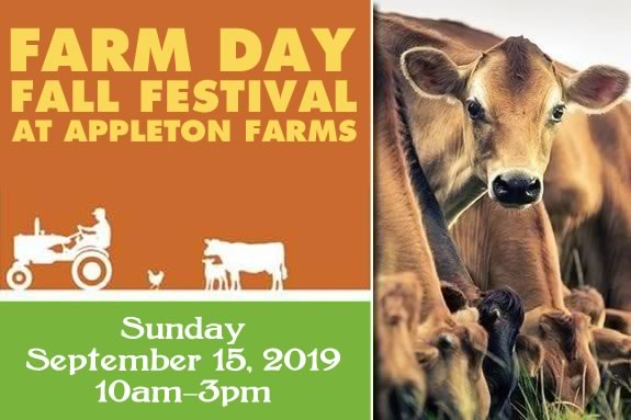 Appleton Farm's Farm Days Fall Festival will have lots of fun, food and live music in Ipswich Massachusetts!