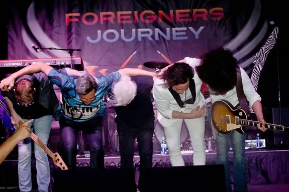 Foreigner Journey performs free at Waterfront Park during Newbuyrport Yankee Homecoming!