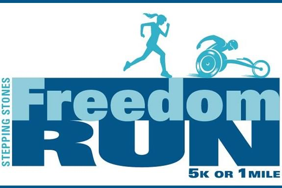 The Freedom Run 5k benefits Stepping Stones for Stella