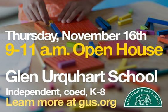 Glen Urquhart GUS Admissions Open House 2017 Best Education North Shore Children