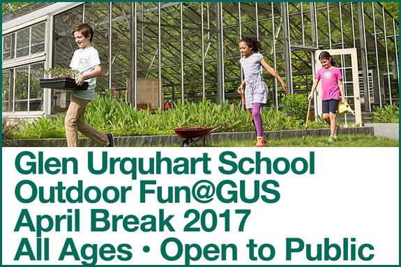 April Public School Vacation Program FUN@GUS + Patriot's Day Outdoor Spectacular