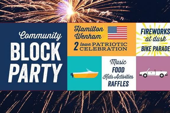 Annual Community House Block Party and Twin Town Patriotic Celebration!