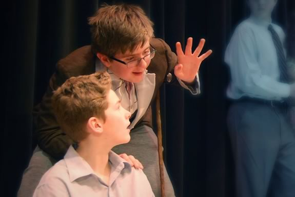 Ipswich Middle School performs James and the Giant Peach at the Ipswich Performing Arts Center
