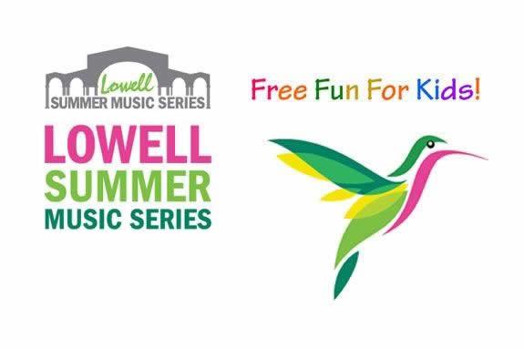 Lowell Summer Music Series: Kids Performances. Visit Lowell Massachusetts.