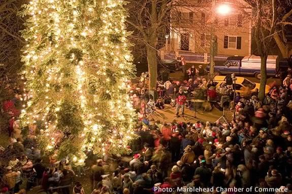 Marblehead's tree lighting is always a festive occasion to kick off the holidays