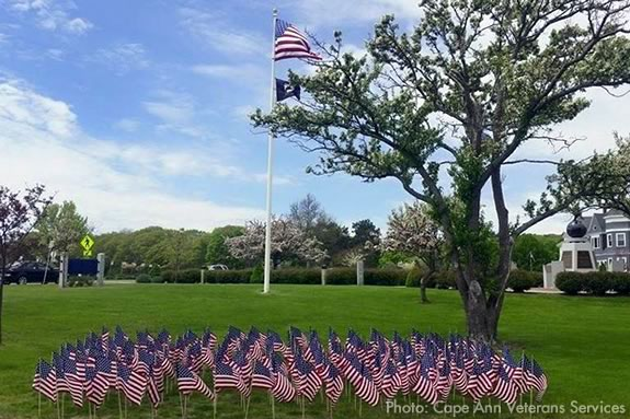 Memorial Day Events in Gloucester Massachusetts.  Cape Ann Veterans Sevices