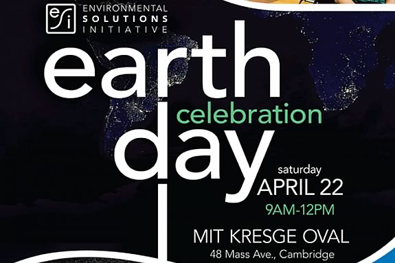 Celebrate Earth Day with MIT Environmental Solutions Initiative in Cambridge Massachusetts!