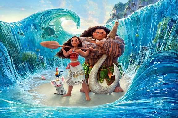 Kids are invited to PArker River Wildlife Refuge for a free showing of Moana!