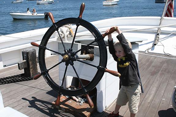 Schooner Adventure dockside tours at Maritime Gloucester's Wharf!