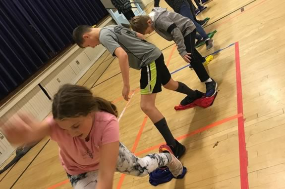 Open Gym each Saturday at the Newburyport Youth Services Rec Center