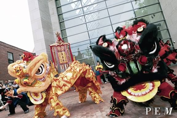 Families can celebrate the Lunar New Year at Peabody Essex Museum in Salem Massachusetts!