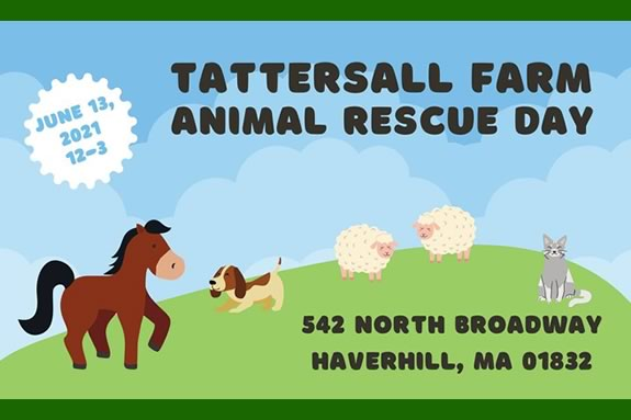 NEER North is thrilled to be a part of the Animal Rescue day at the beautiful Tattersall Farm Grounds in Haverhill, MA
