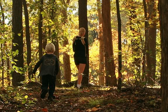 Take a twilight walk at Maudslay State Park!
