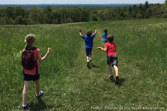 Families with school-aged children are invited to join The Trustees in the great outdoors on this 2 mile hike at Ward Reservation.