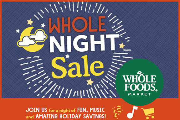 Whole Food Market Night Sale in Lynnfield MA