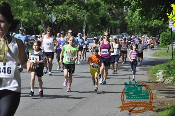 Run, walk or stroller the North Shore YMCA's Fathers Day 5k race in Rockport Massachusetts