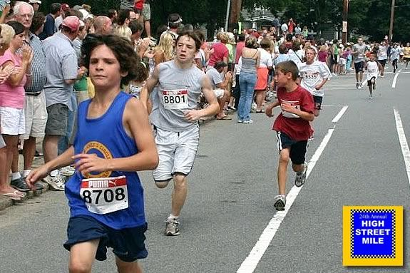 The 25th Annual High street Mile includes categories for kids races!