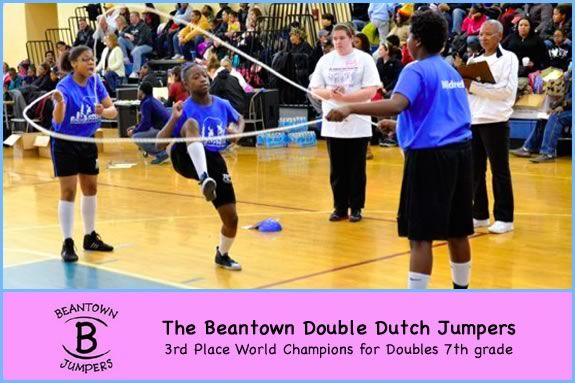 Beantown Jumpers Double Dutch Jump Rope Demonstration Team