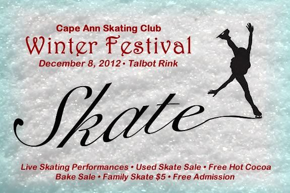 The Cape Ann Skating Club celebrates Winter with an exhibition & festival.