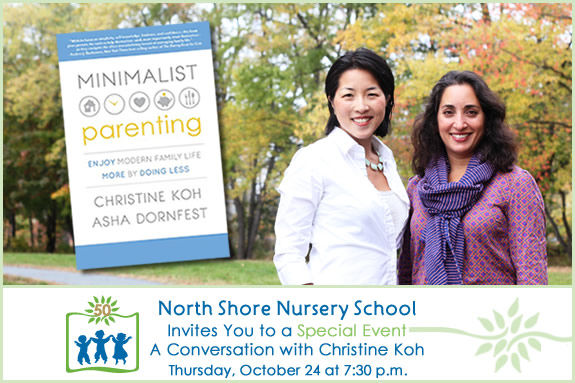 Christine Koh visits North Shore Nursery School Beverly MA, Boston Mamas, Parent