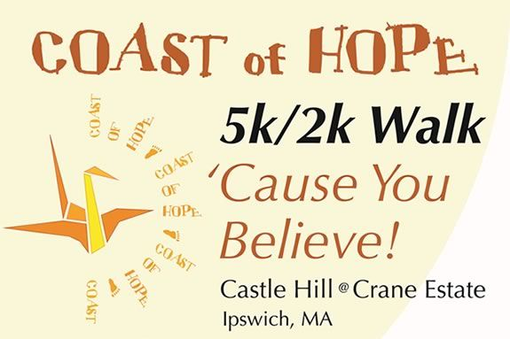 The Coast of Hope Walk raises funds for your favorite charity at the Crane Estat