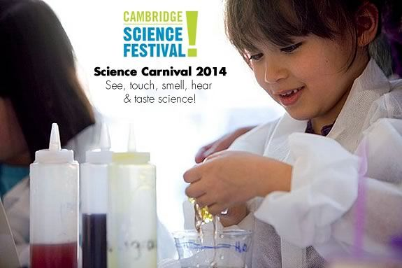 See, touch, smell, hear, and taste science in new and exciting ways at the Cambr