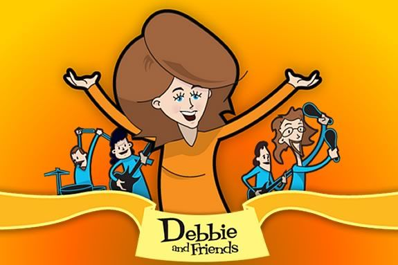 Debbie & Friends use original songs to tell stories that children know and love.